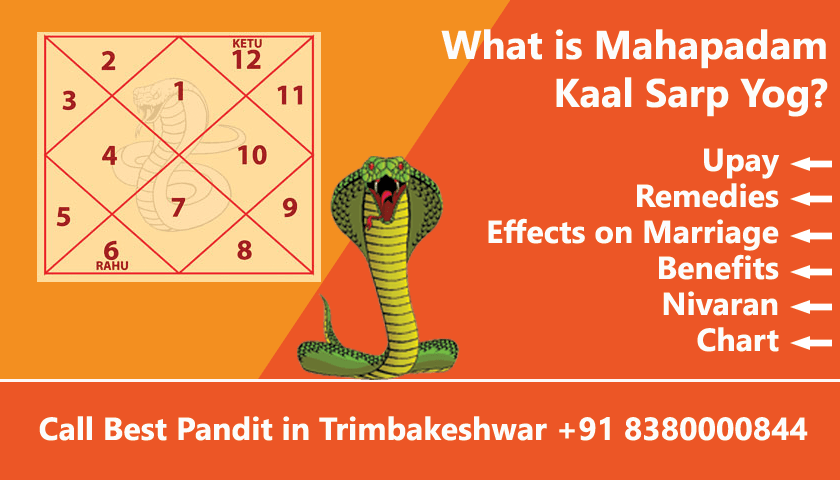 Mahapadam Kaal Sarp Dosh, Upay, Remedies, Effects, Benefits and Chart